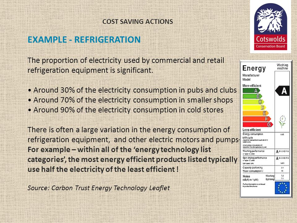 EXAMPLE - REFRIGERATION