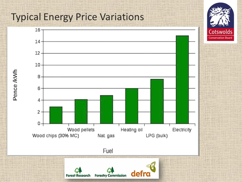 Typical Energy Price Variations