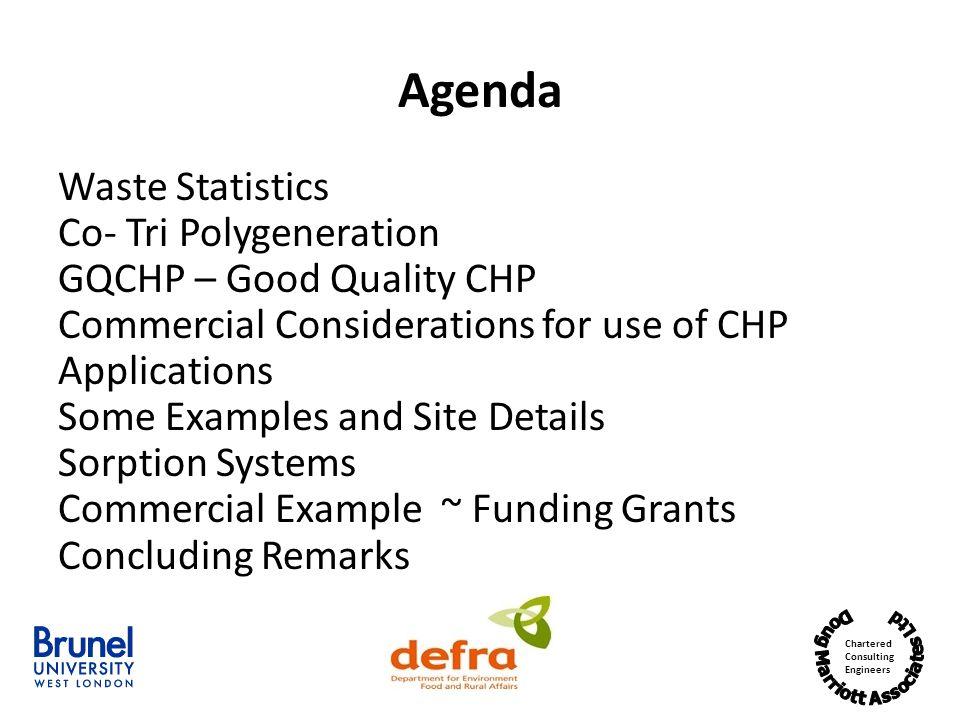 Agenda Waste Statistics Co- Tri Polygeneration