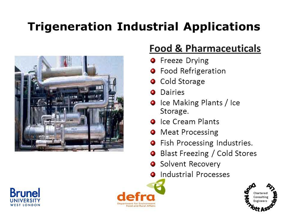 Trigeneration Industrial Applications
