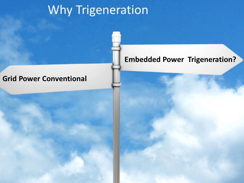 Why Trigeneration Embedded Power Trigeneration