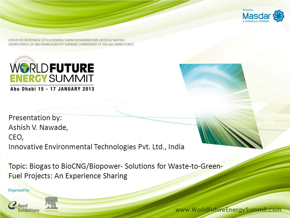 Innovative Environmental Technologies Pvt. Ltd., India