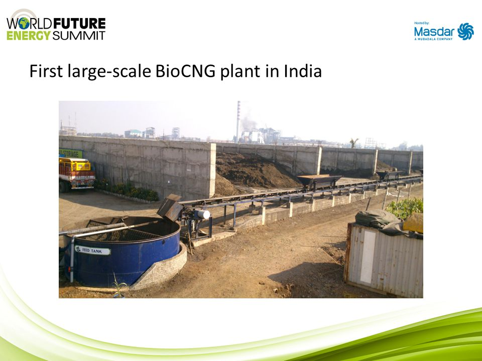 First large-scale BioCNG plant in India