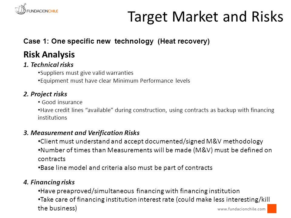 Target Market and Risks