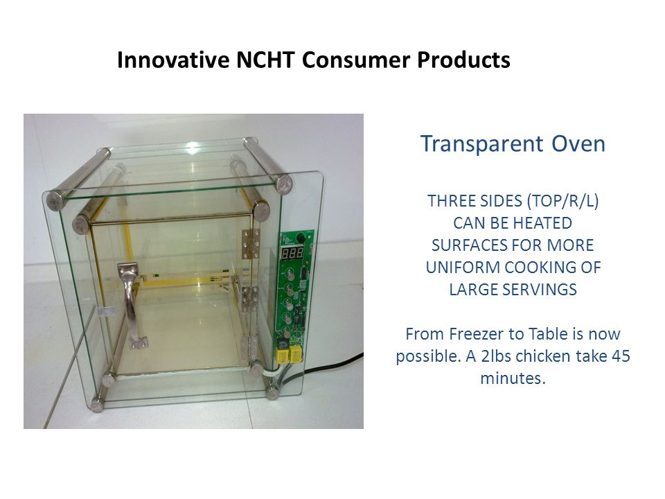 Innovative NCHT Consumer Products