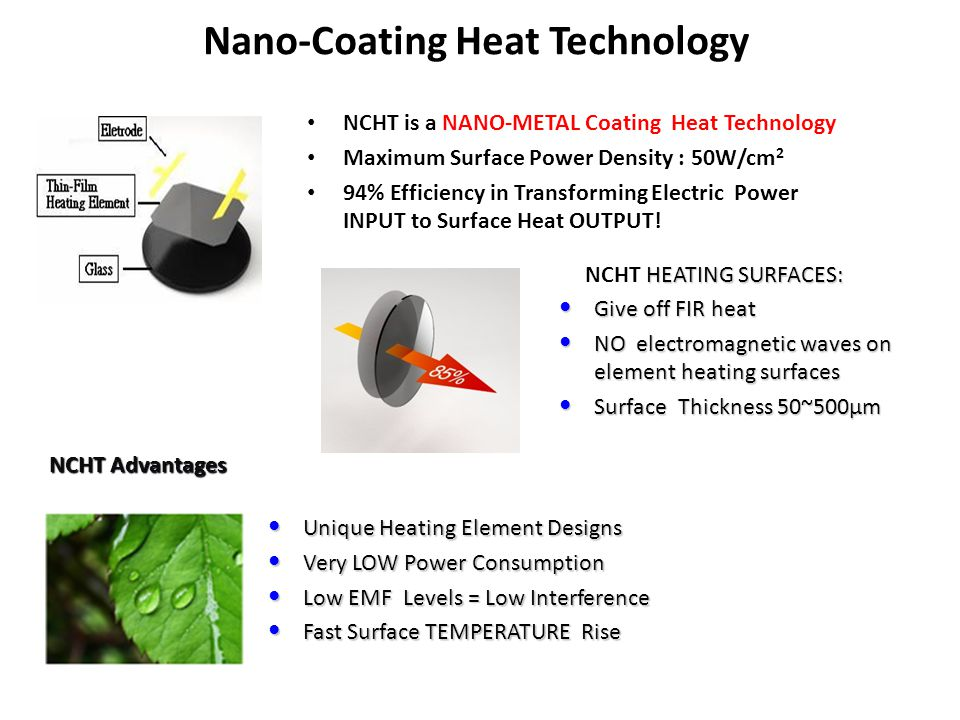 Nano-Coating Heat Technology