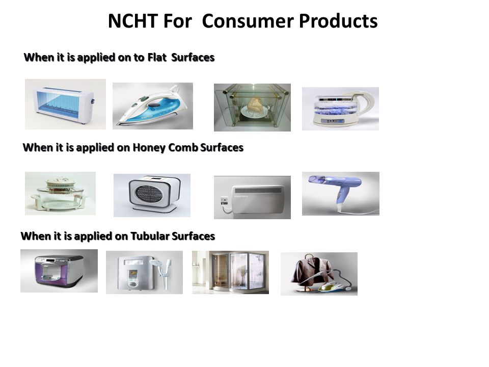 NCHT For Consumer Products