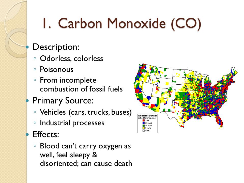 Chapter 12 Section 1 What Causes Air Pollution