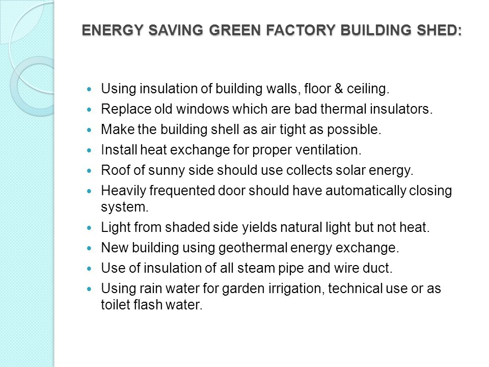 ENERGY SAVING GREEN FACTORY BUILDING SHED:
