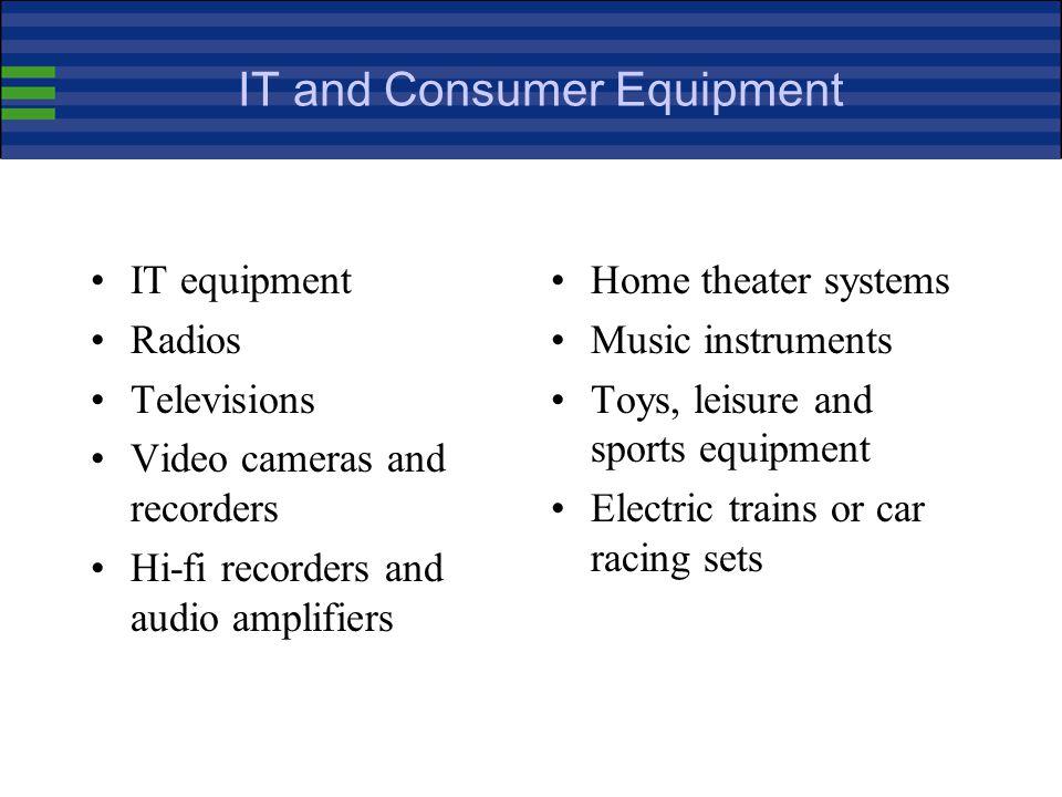 IT and Consumer Equipment