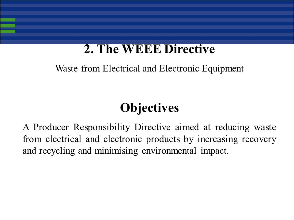 Waste from Electrical and Electronic Equipment
