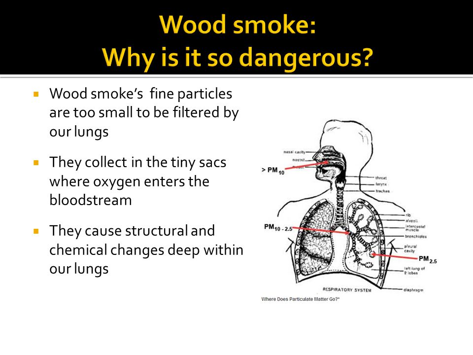 Wood smoke: Why is it so dangerous