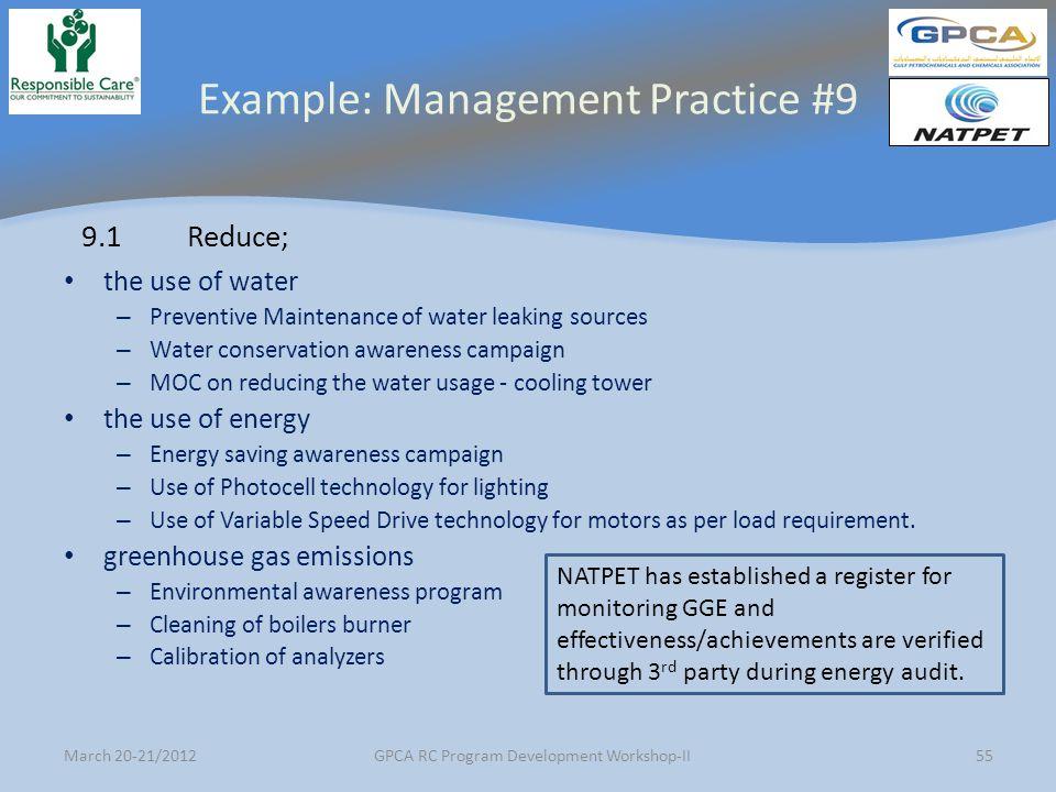 Gpca Rc Program Development Workshop Ii Ppt Download