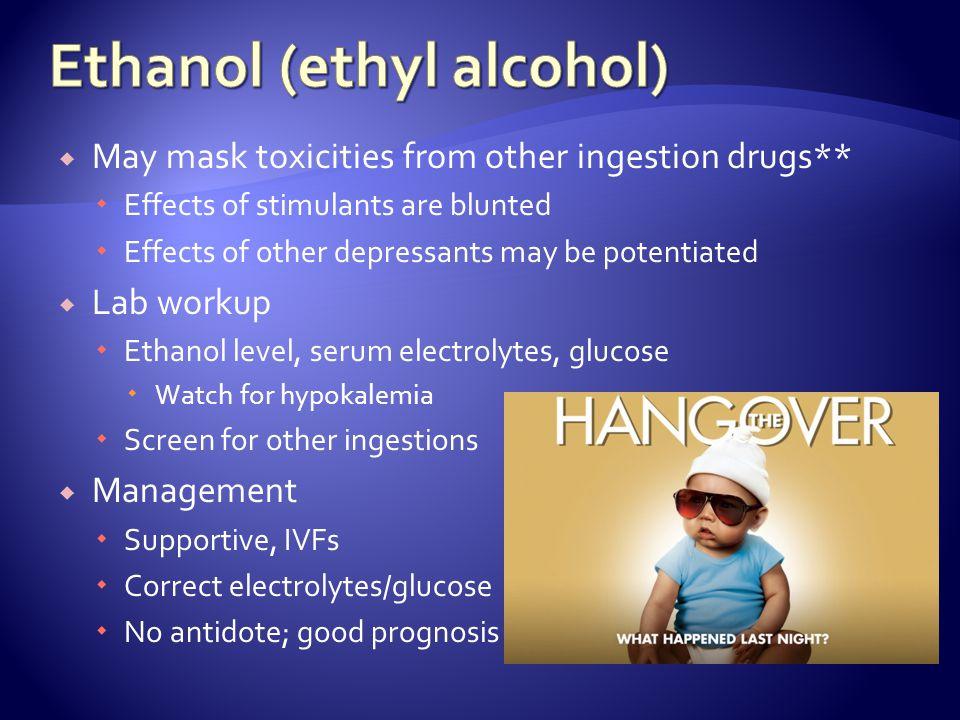 Ethanol (ethyl alcohol)