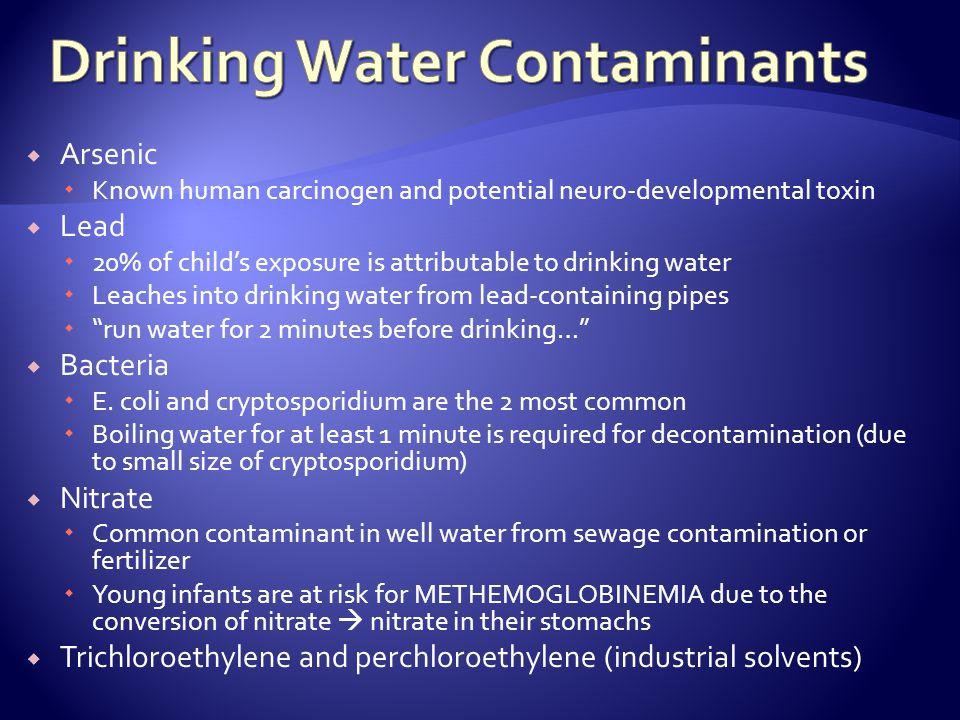 Drinking Water Contaminants