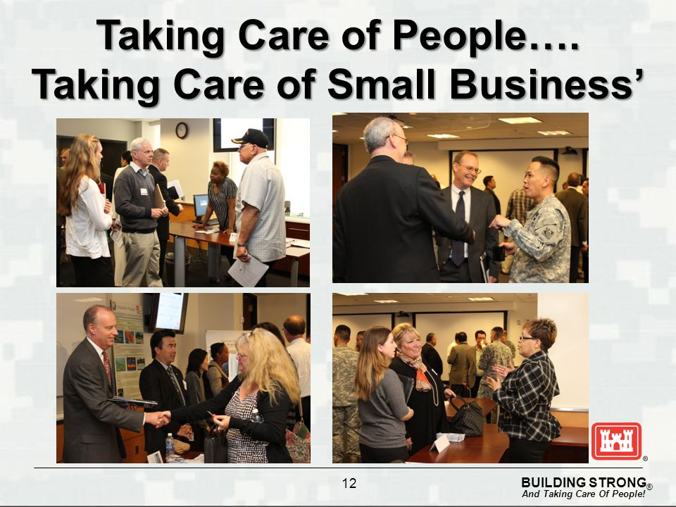 Taking Care of Small Business'