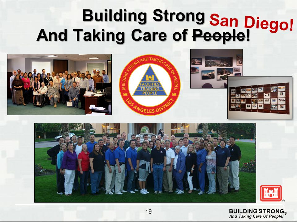 Building Strong And Taking Care of People!