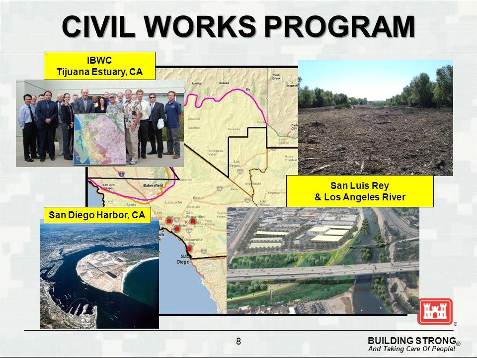 Civil Works Program IBWC Tijuana Estuary, CA San Luis Rey