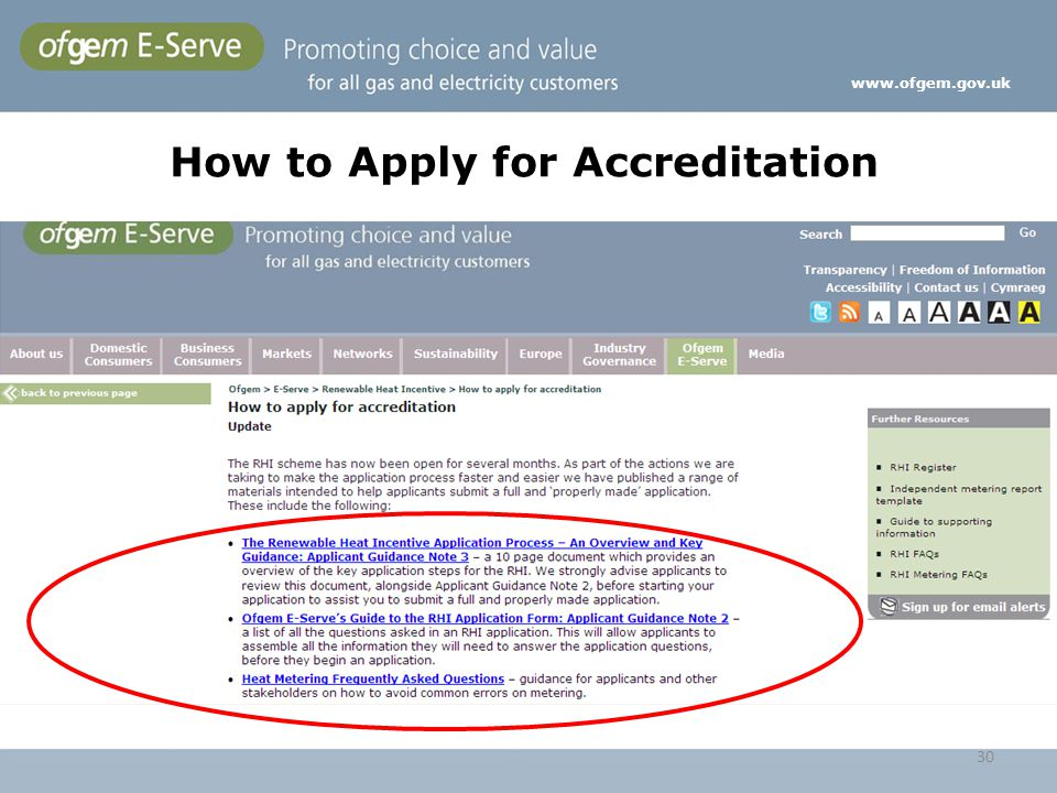 How to Apply for Accreditation