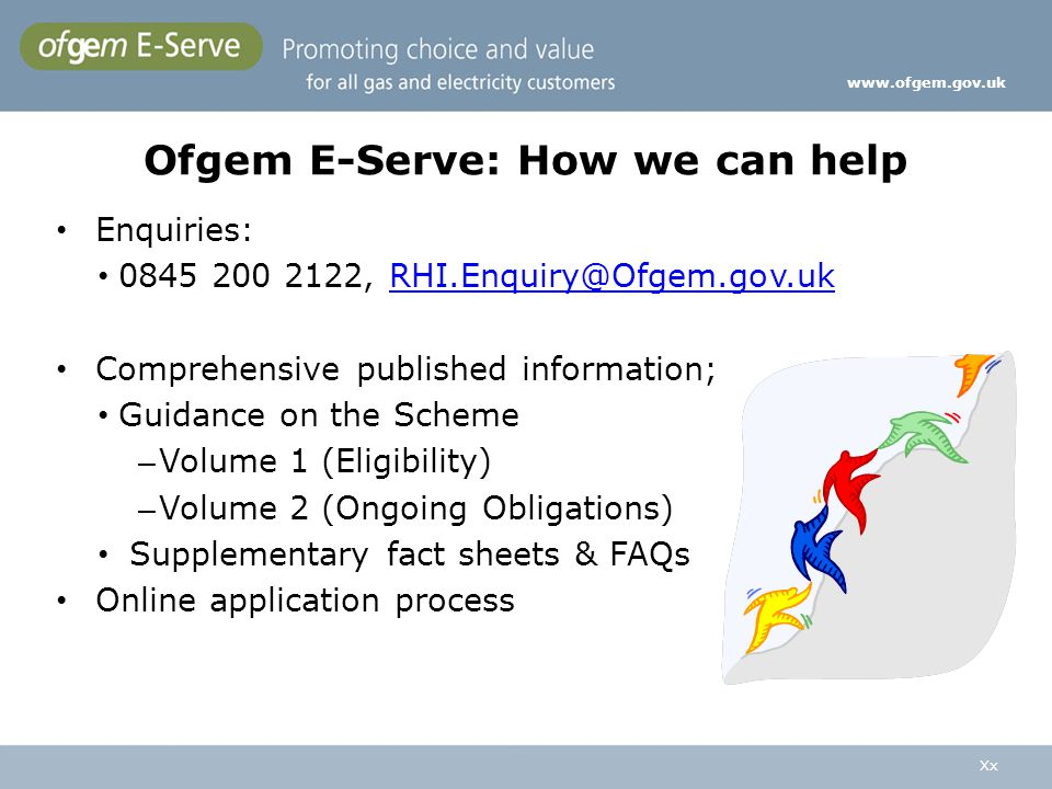Ofgem E-Serve: How we can help