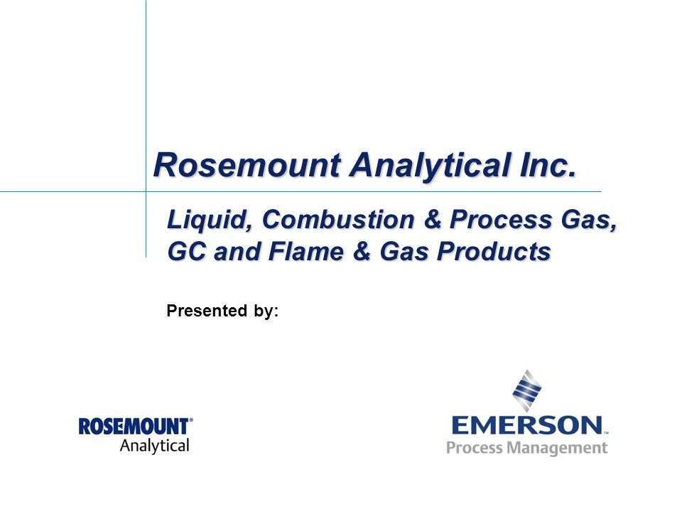 Rosemount Analytical Inc.