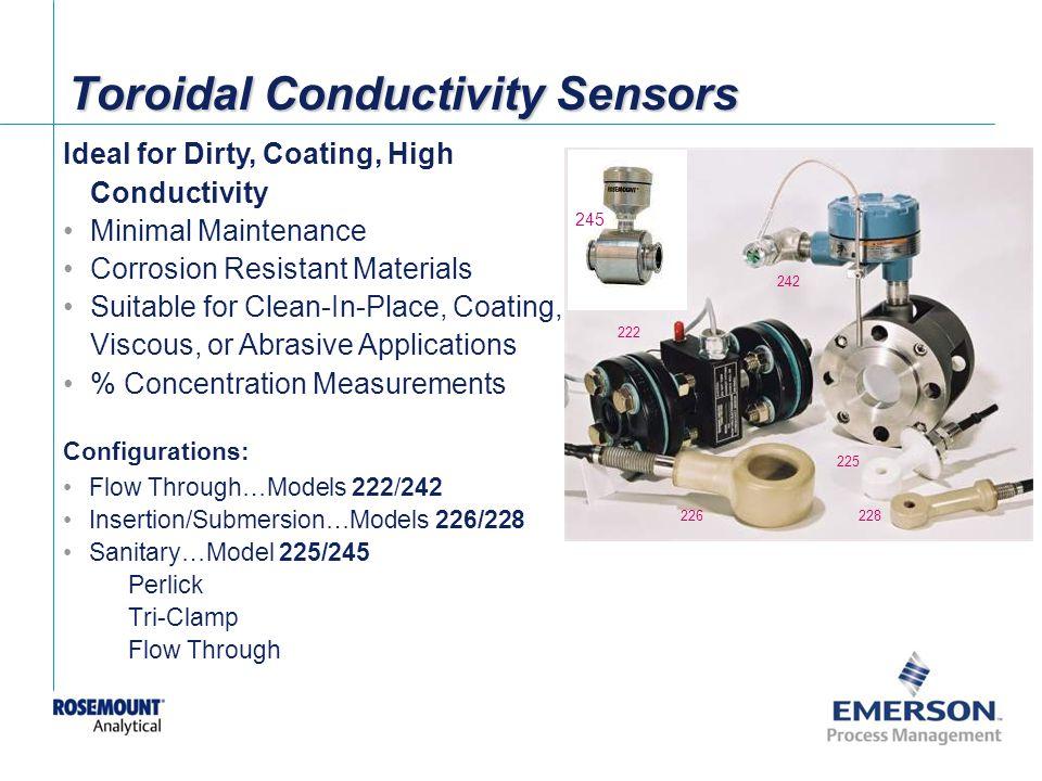 Toroidal Conductivity Sensors