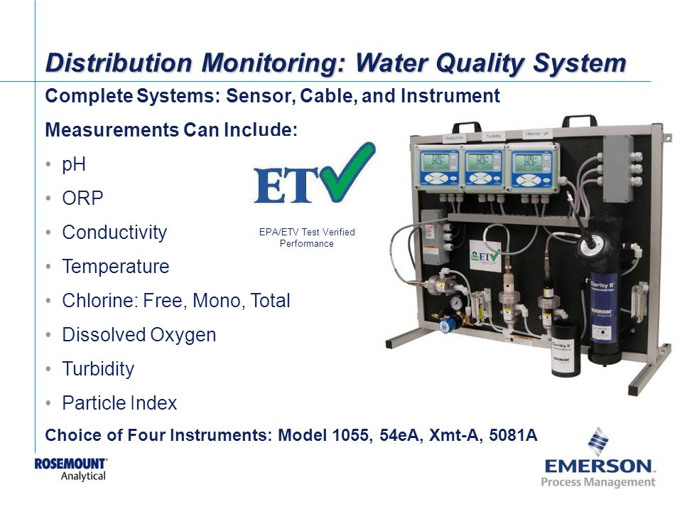 EPA/ETV Test Verified Performance