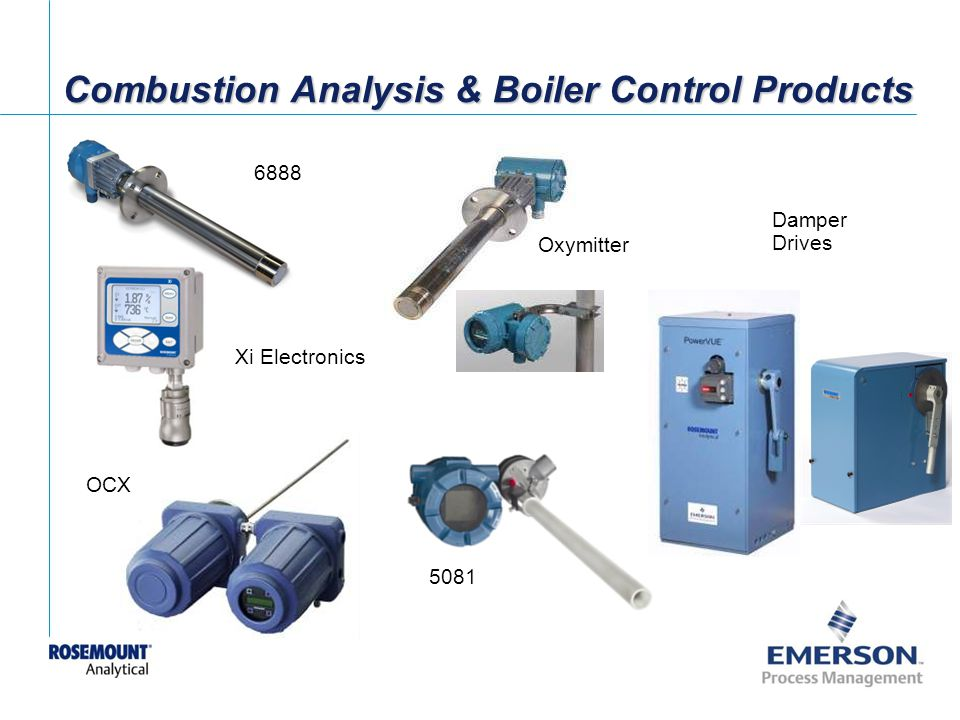 Combustion Analysis & Boiler Control Products
