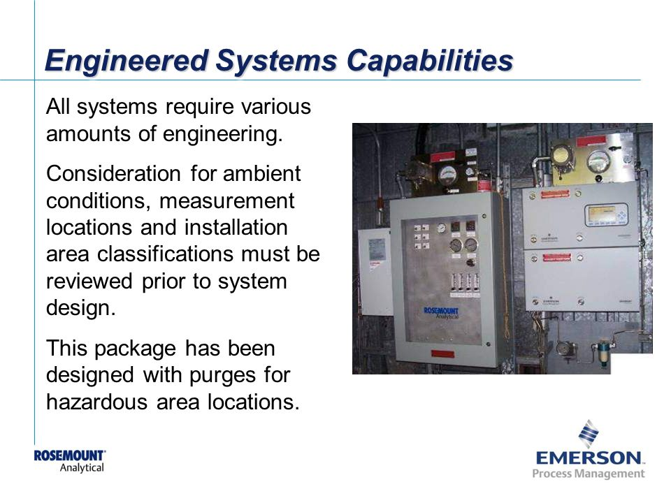 Engineered Systems Capabilities
