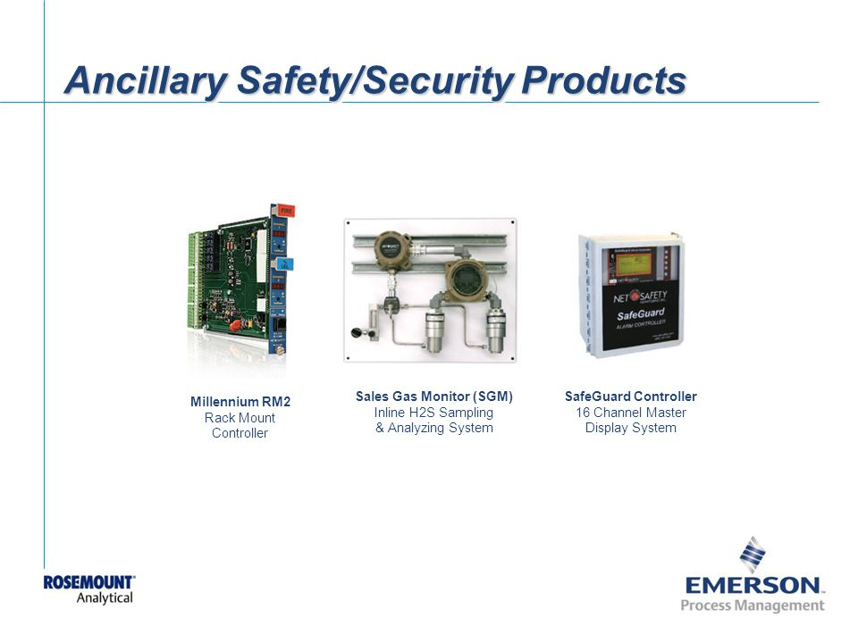 Ancillary Safety/Security Products