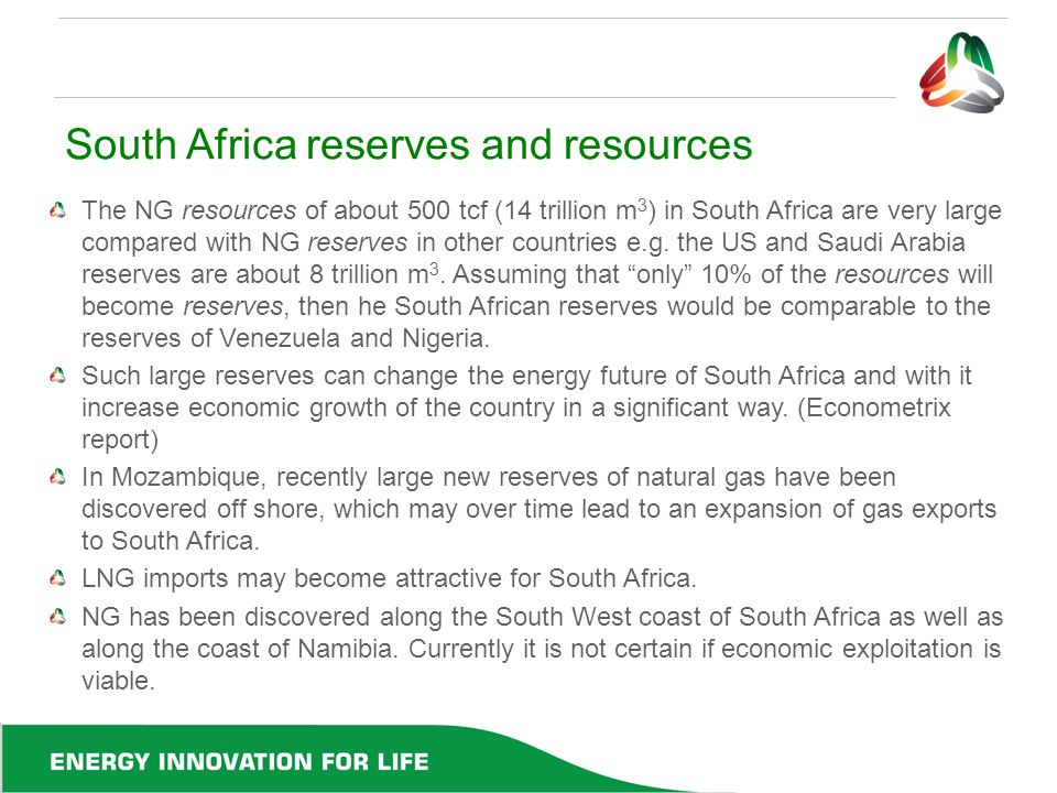 South Africa reserves and resources
