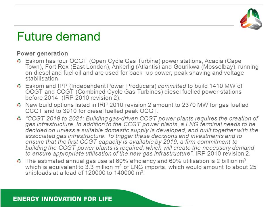 Future demand Power generation