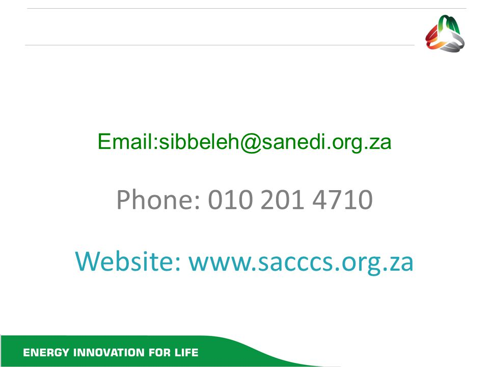 Website: www.sacccs.org.za