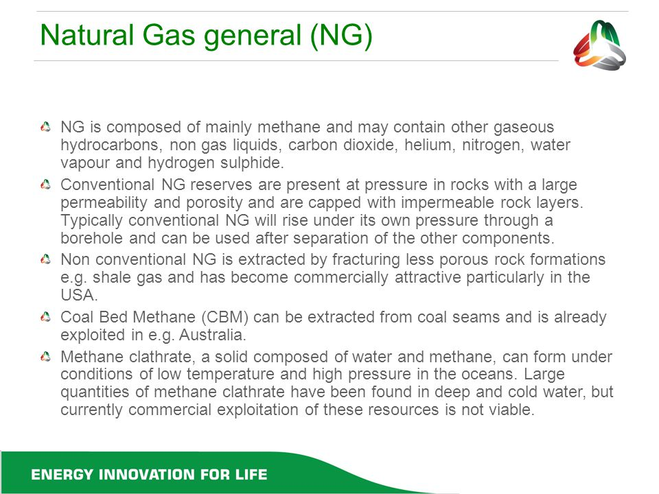 Natural Gas general (NG)