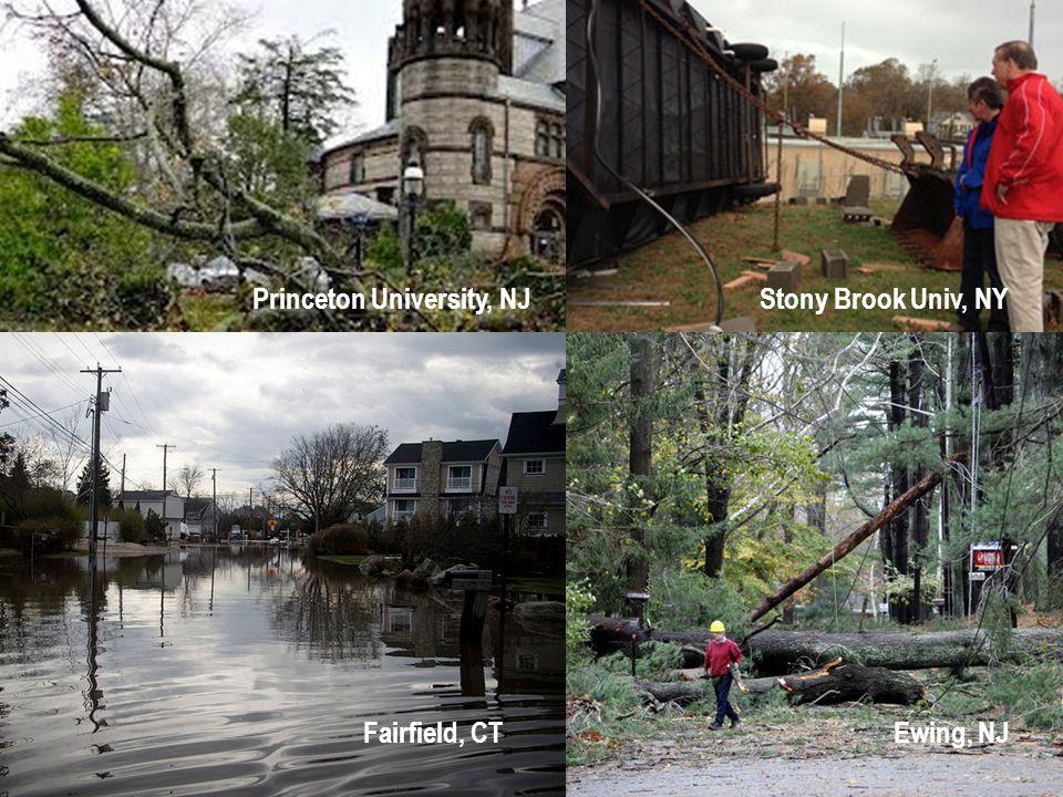 Princeton University, NJ Stony Brook Univ, NY