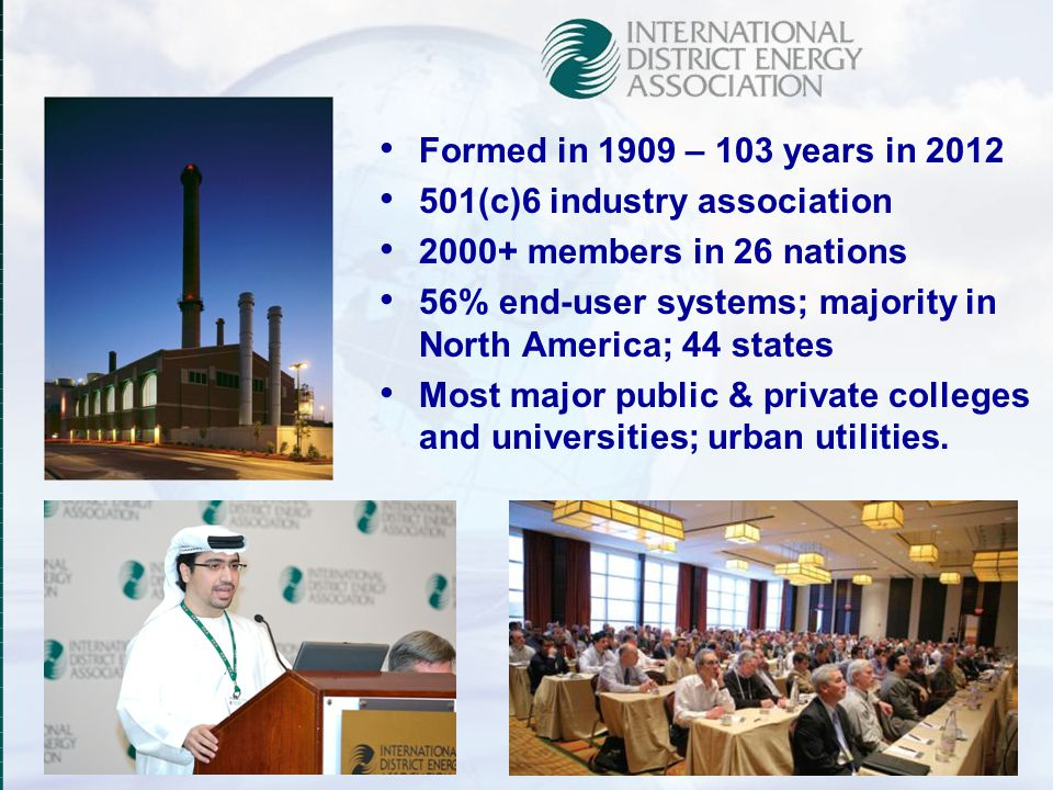 501(c)6 industry association 2000+ members in 26 nations