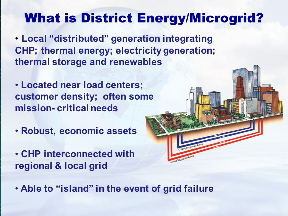 What is District Energy/Microgrid