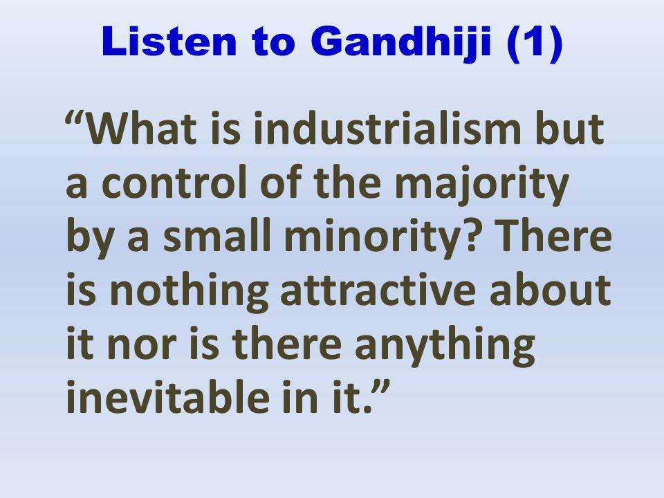 Listen to Gandhiji (1)