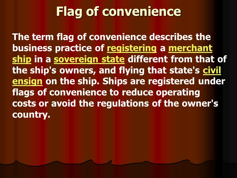 Flag of convenience