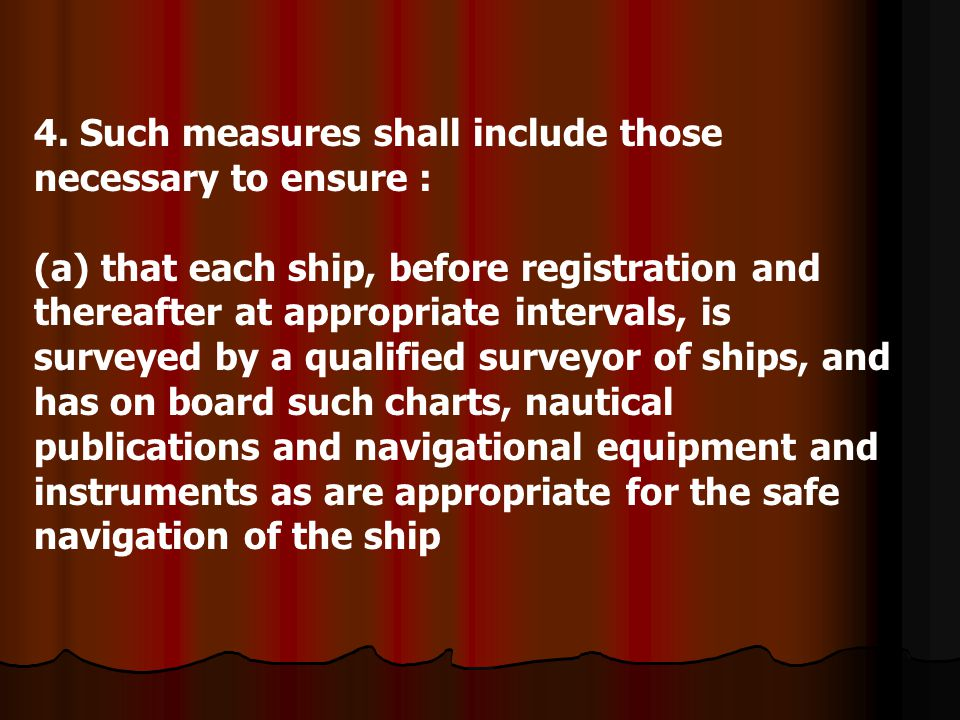 4. Such measures shall include those necessary to ensure :