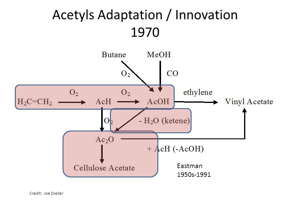 Acetyls Adaptation / Innovation 1970