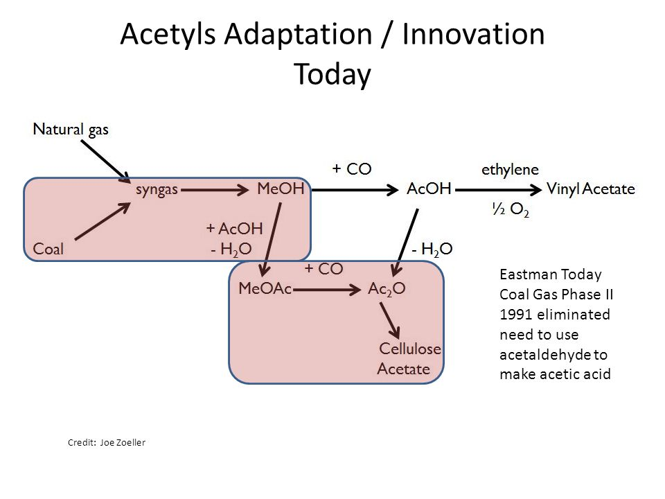 Acetyls Adaptation / Innovation Today