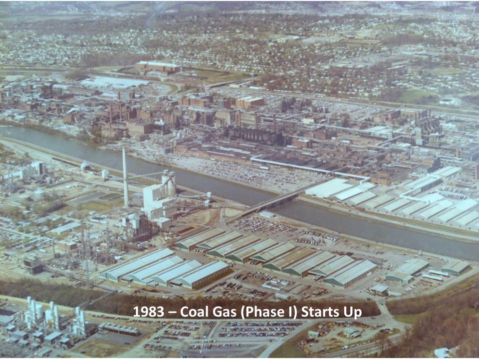 1983 – Coal Gas (Phase I) Starts Up