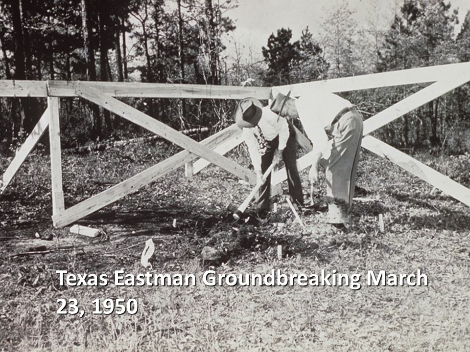 Texas Eastman Groundbreaking March 23, 1950