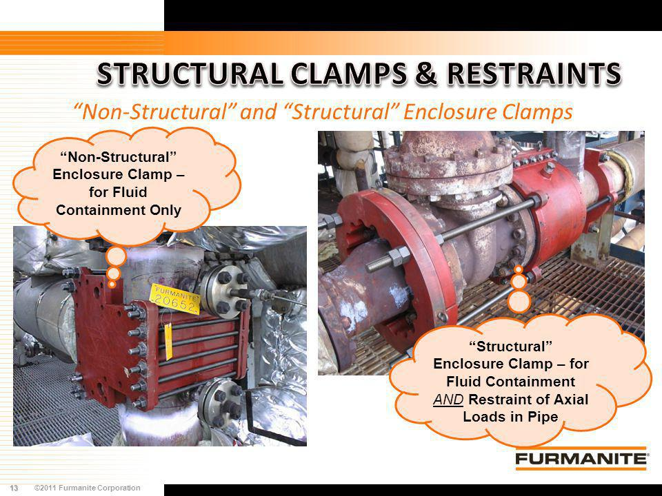 STRUCTURAL CLAMPS & RESTRAINTS