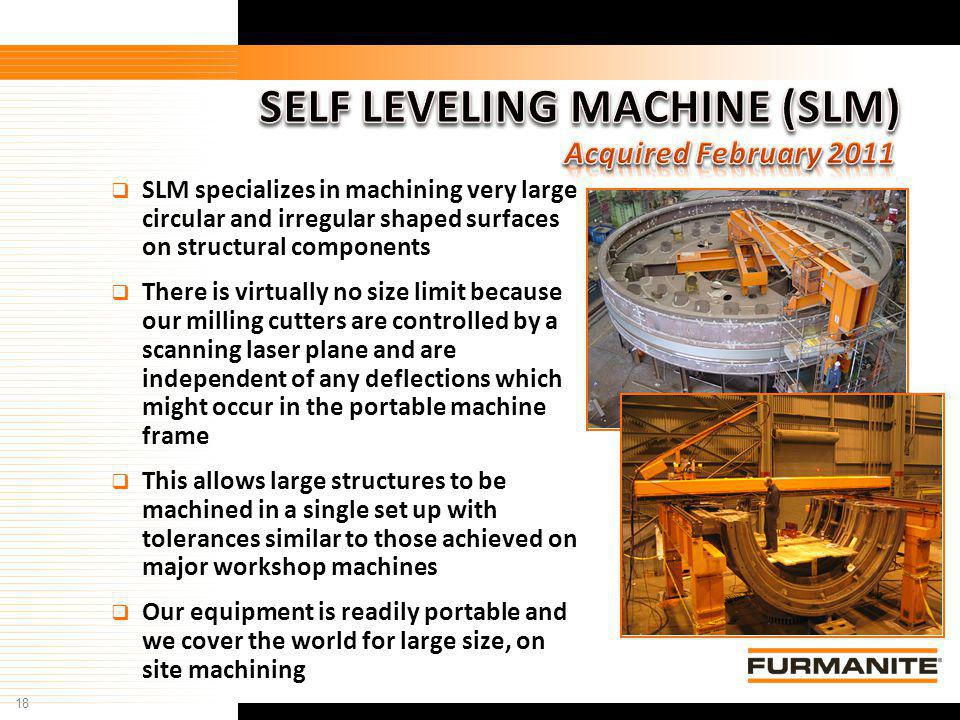 SELF LEVELING MACHINE (SLM)