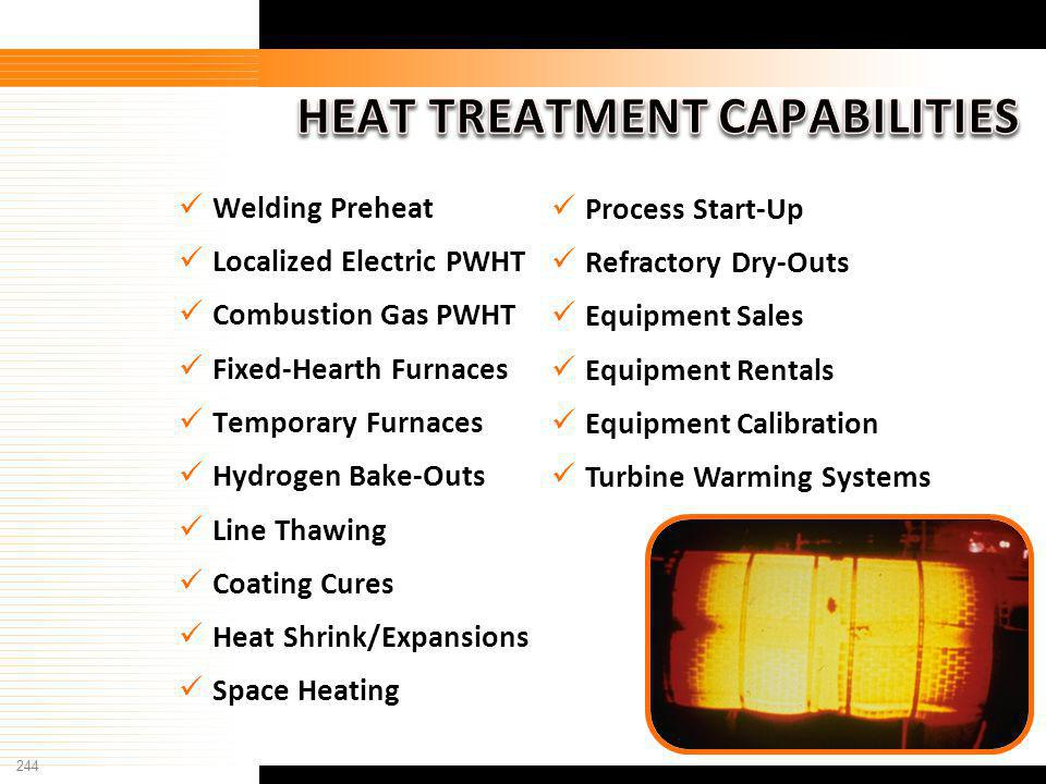 HEAT TREATMENT CAPABILITIES