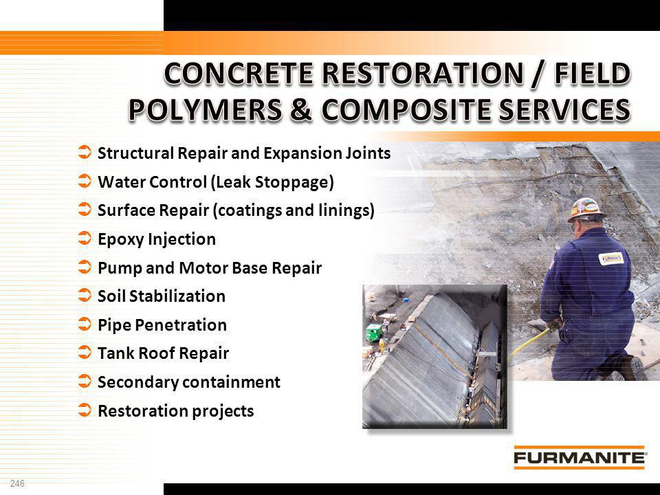 CONCRETE RESTORATION / FIELD POLYMERS & COMPOSITE SERVICES