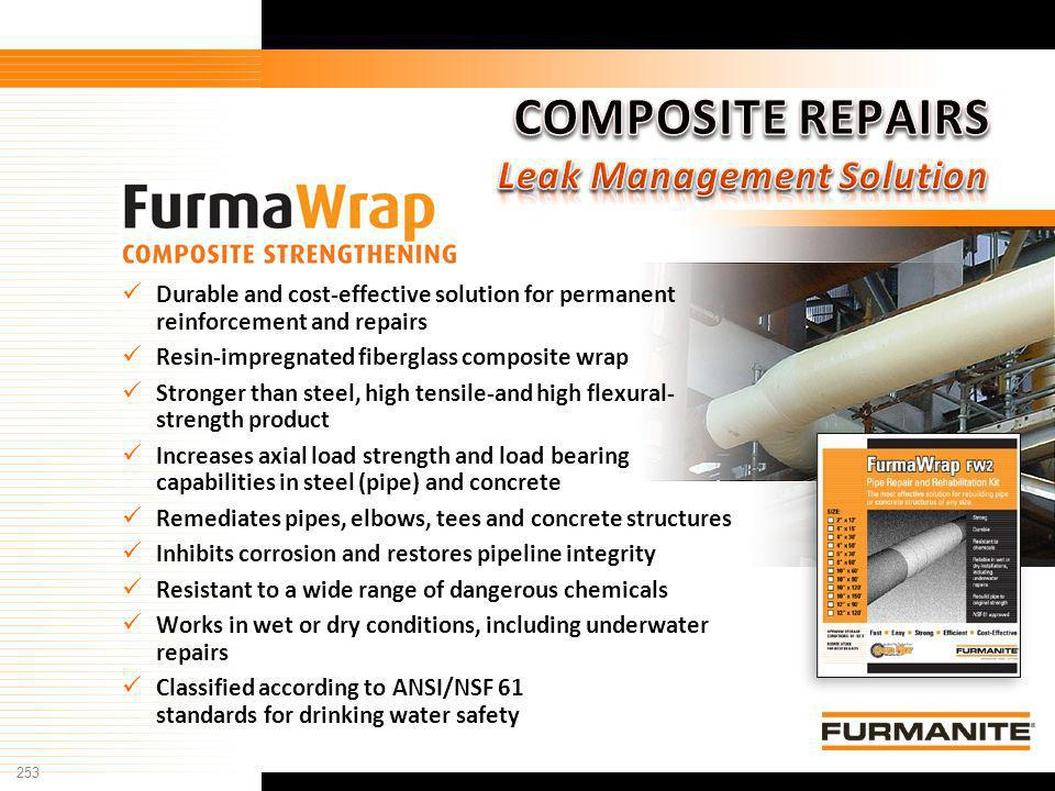 COMPOSITE REPAIRS Leak Management Solution