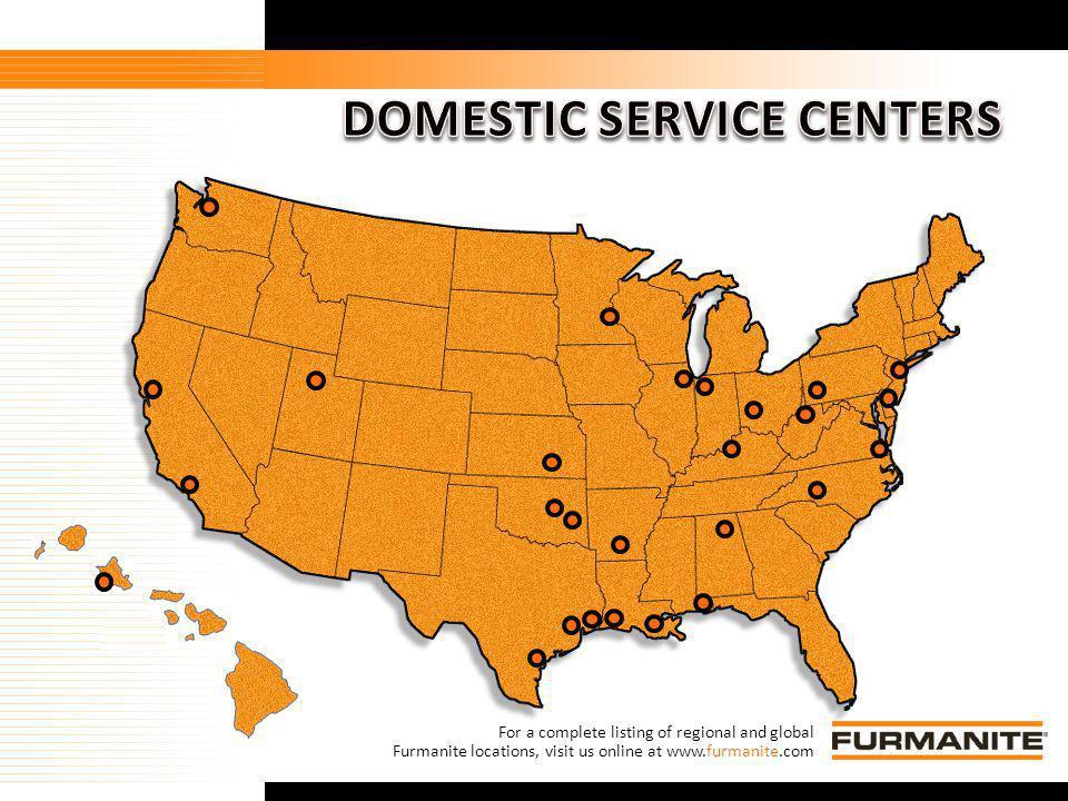 DOMESTIC SERVICE CENTERS